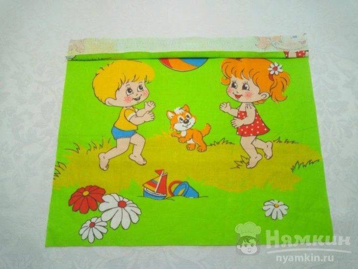 Кармашек для шкафчика в детском своими руками