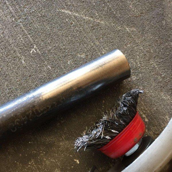 заготовка из металлической трубы