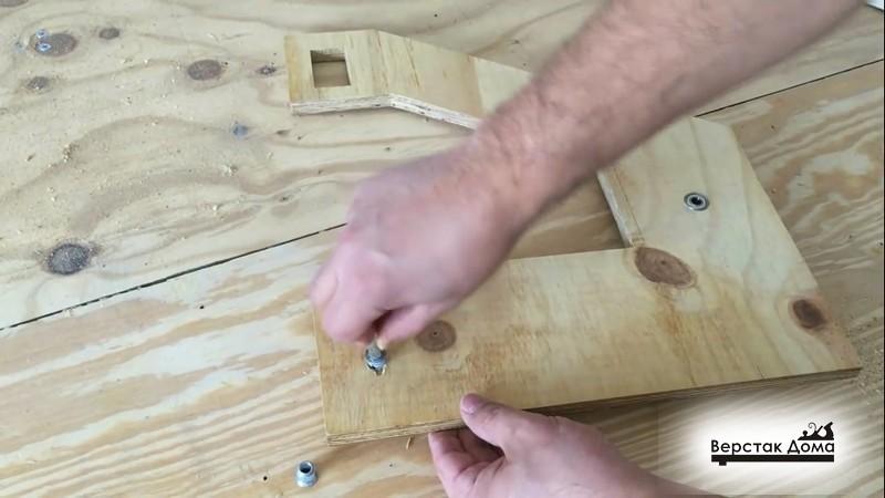 Установка мебельных футорок