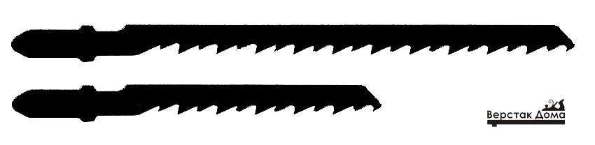 Пилки разной длины