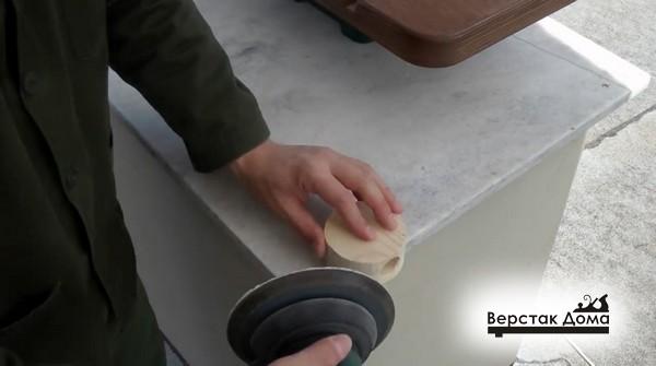 Циркулярная пила стационарная своими руками видео