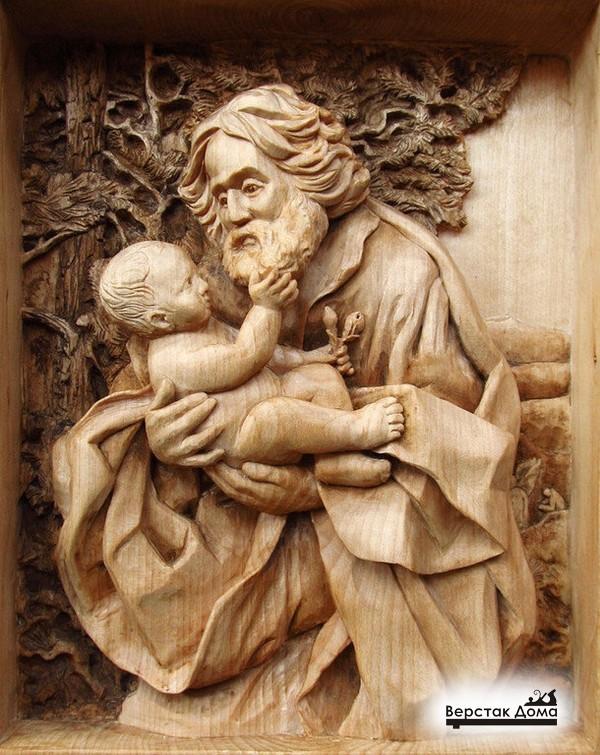 Старец с ребенком