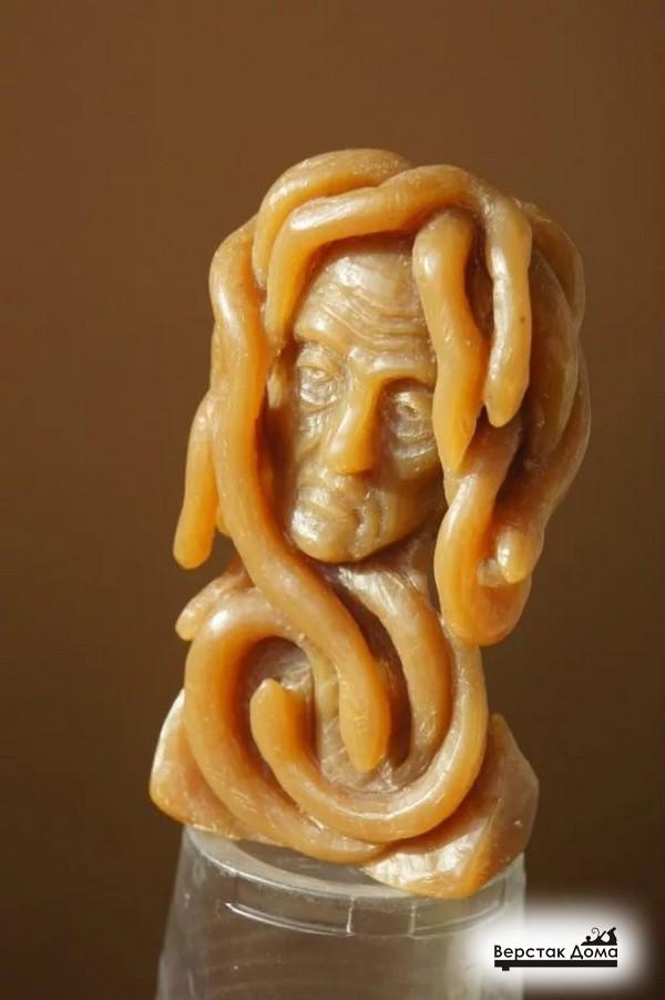 Медуза Горгона из мыла