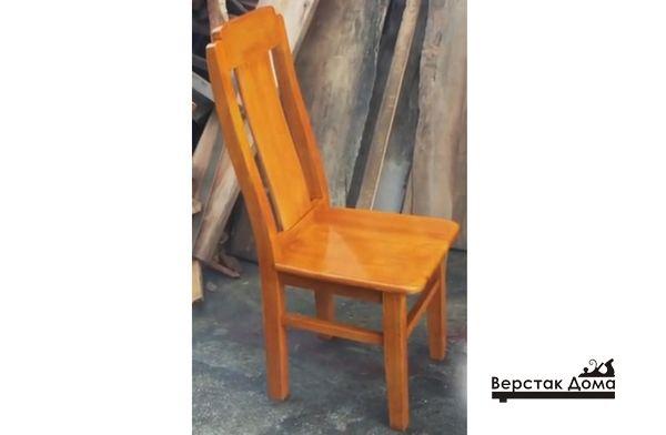 Самодельный стул готов